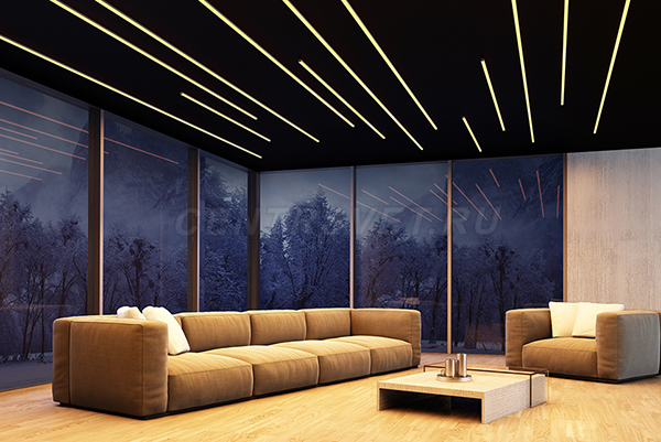 Натяжные потолки – прекрасное дополнение интерьера
