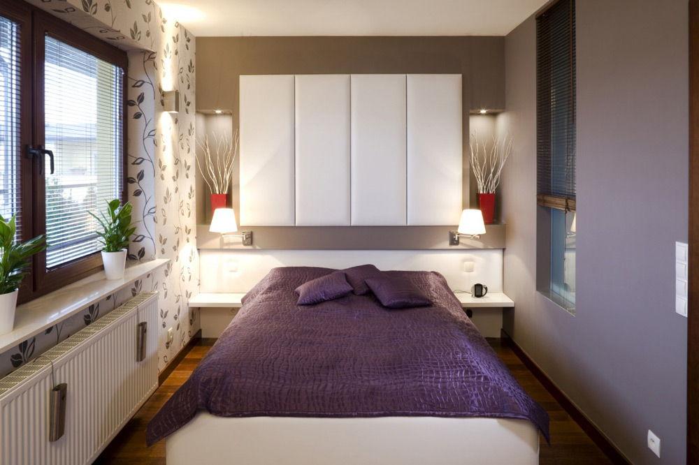 Как обустроить маленькую спальню