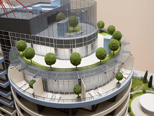 Архитектурные и ландшафтные макеты