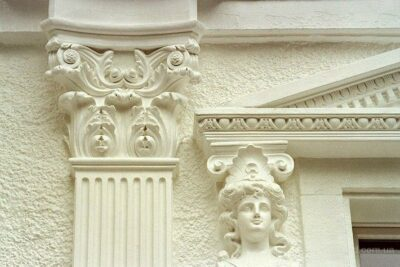 plaster moldings for facade